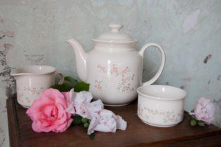 Tetera i accessoris vintage, Staffordshire