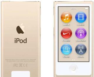 Apple iPod nano 7å Generación 16GB oro