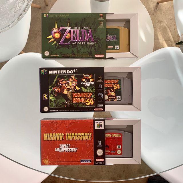 Videojuegos Nintendo 64 con caja de rwprodu