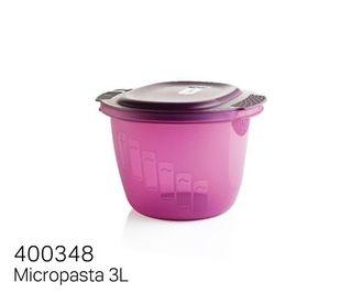 Micropasta tupperware (pasta en el microondas)