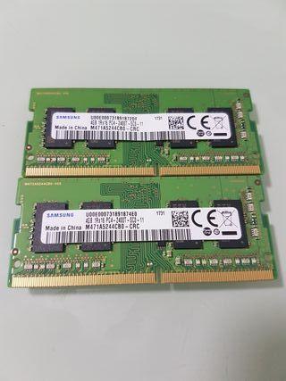 Memoria RAM DDR4 Kit 8GB SoDimm Samsung