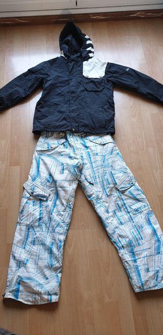 ropa para ski o snowboard