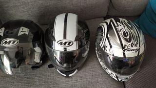 cascos casi nuevos