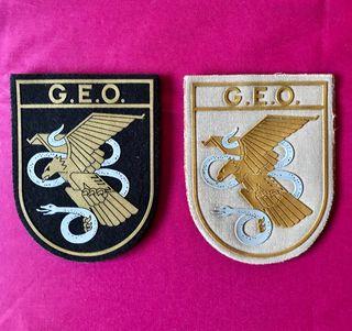 Parches escudo G.E.O... NUEVO