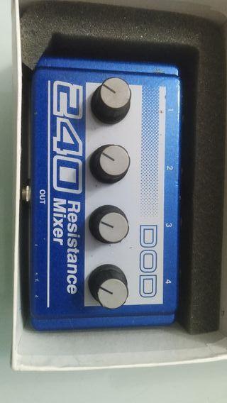 pedal DOD 240 mixer