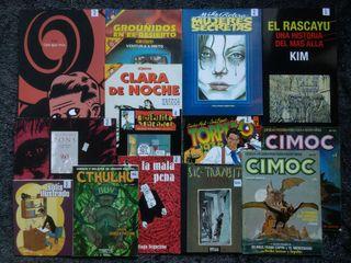 Lote de cómic español, de los 80 a ahora.