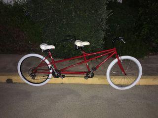 Tándem Qüer. Bicicleta de 2 plazas
