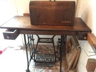 Maquina de costura sigma antigua perfecto