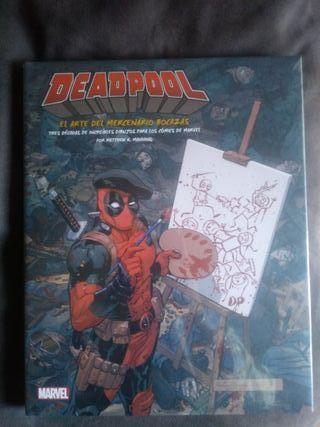Libro de arte Deadpool Panini