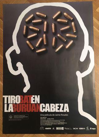 Poster cine Tiro en la cabeza. Jaime Rosales