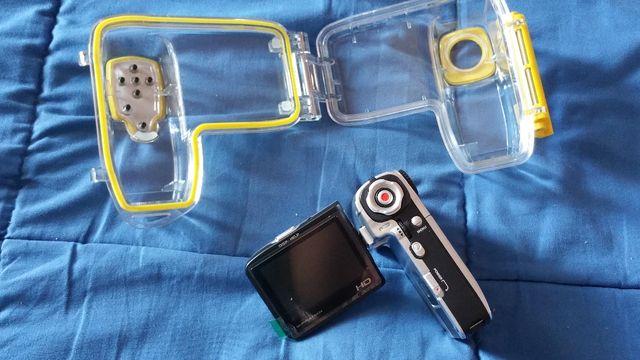 cámara digital fotos y video SUMERGIBLE