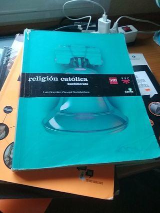 libro de religión católica 1° de bach editorial sm