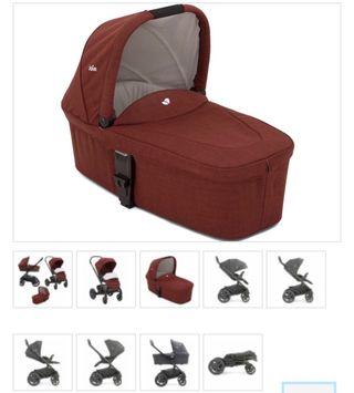 Brand new Joie Chrome DLX 2 in 1 Pushchair