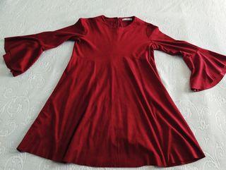 vestido granate