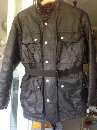 Pantalón de cuero Garibaldi y chaqueta