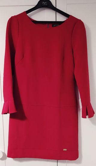 vestido rojo/granate