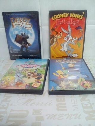 LOTED DVD DE PELÍCULAS INFANTILES