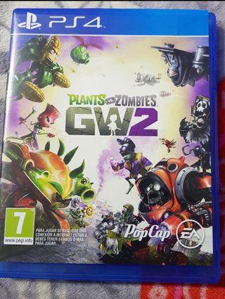 VIDEOJUEGO PLANTAS VS ZOMBIES GW2 PS4