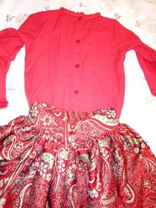 2 Conjuntos de falda y camisa de niña *BELCOQUET*