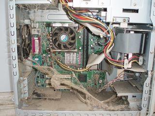 Limpieza de ordenadores de torre y portatiles