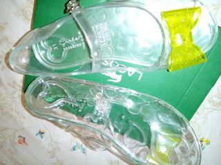 Sandalias Transparentes