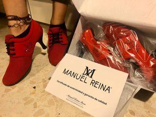 zapato tacón baile mujer NUEVOS, Manuel Reina