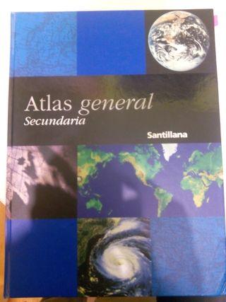Atlas general secundaria (Santillana)