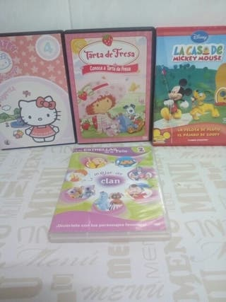 LOTE DVD PELICULAS INFANTILES