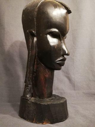 Imponente Busto africano 6