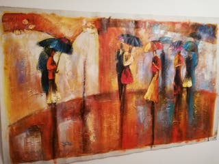 Paraguas, un dia lluvioso