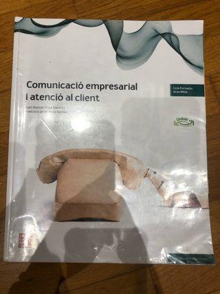 Libro comunicació empresarial i atenció al client