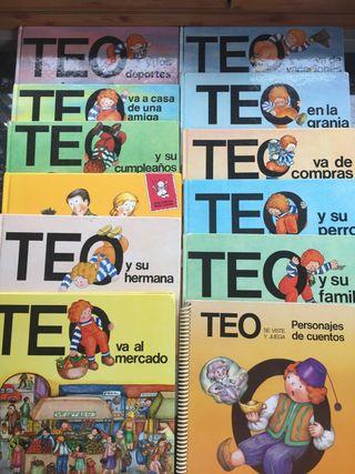 Colección 12 libros infantiles Teo
