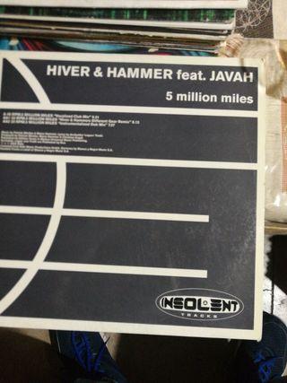 vinilo Hiver hammer. 5 million miles