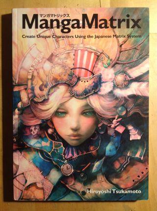 Manga Matrix Libro de Arte