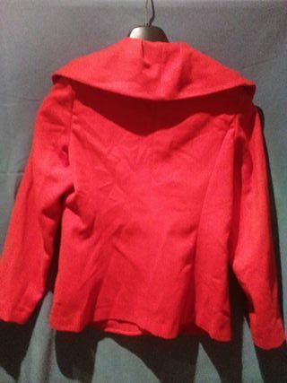 chaqueton rojo exclusivo Moda Paris