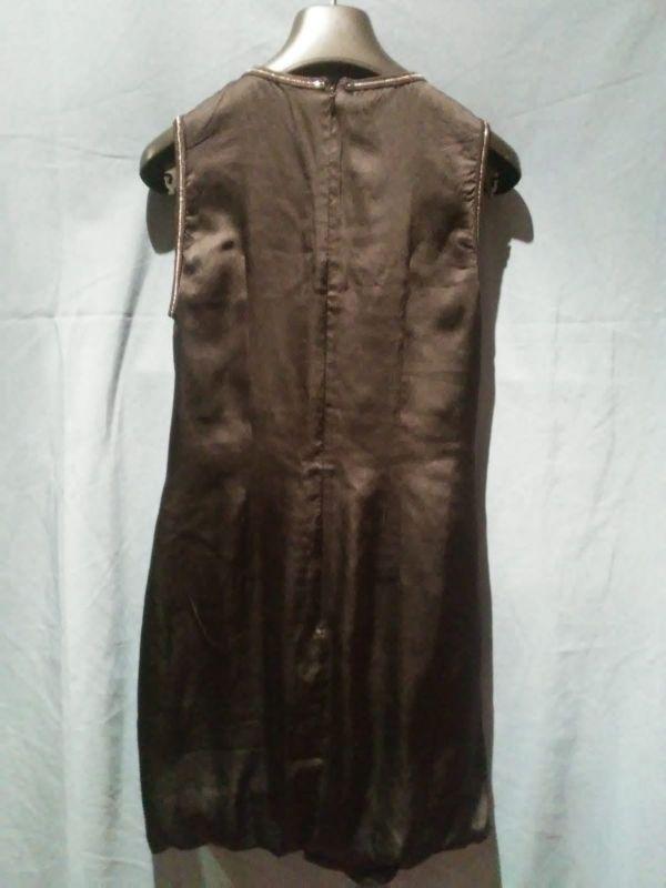 vestido seda diseñadora