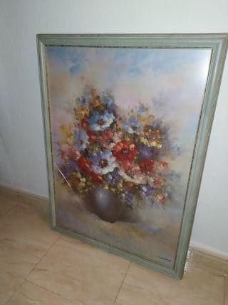 """cuadro L. Cursore """"FIORI DI PRIMAVERA"""" 56x78 cm"""
