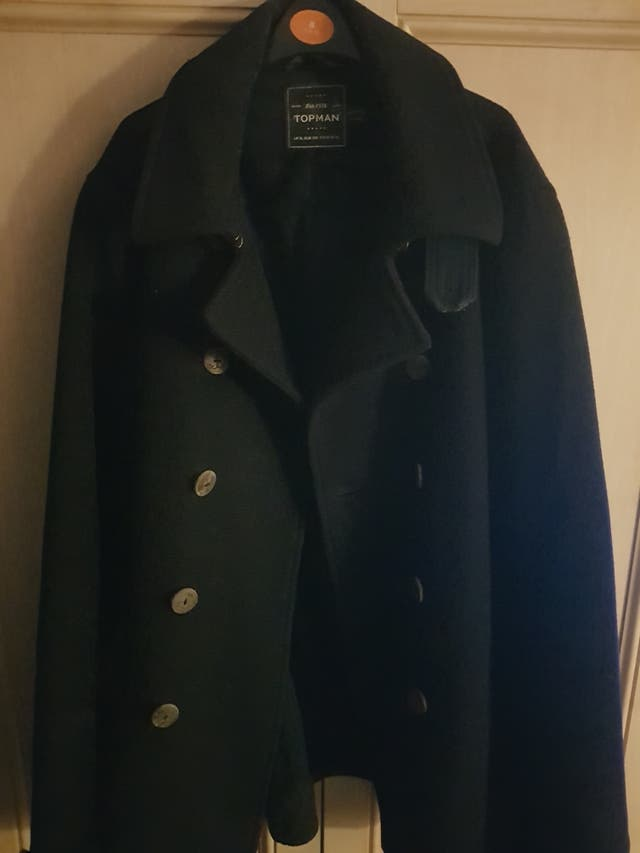 Mens black coat