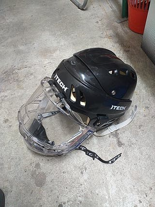 casco de hockey patines