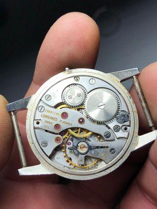 Reloj longines 30 L caja de acero