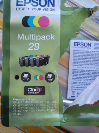 tintas EPSON Multipack 29