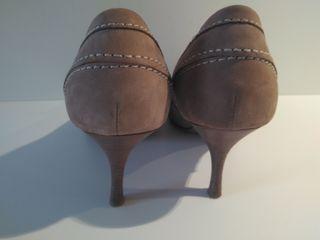 Zapato tacón Massimo Dutti
