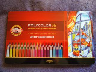 Caja nueva lápices colores koh-i-noor polycolor
