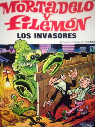 Comics antiguos mortadelo y filemon...