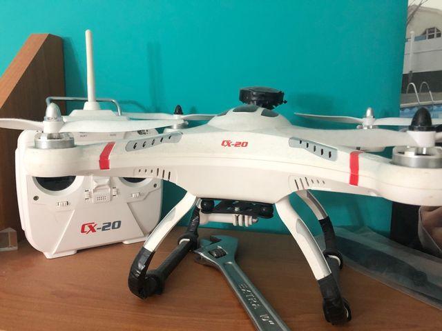 Drone cx-20 con gps y retorno a casa