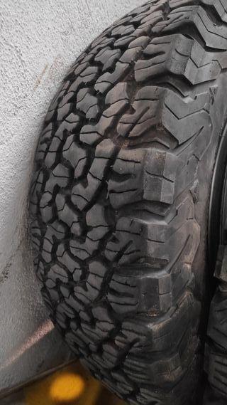 Ruedas Jeep Wrangler BFGoodrich All Terrain