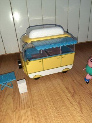 Peppa Pig caravana
