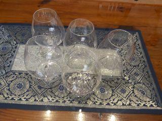 5 copas de coñac