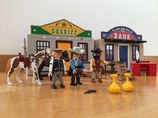 Ciudad del Oeste. Maletín Playmobil