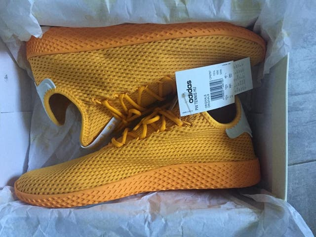Adidas Pharrell Williams Tennis HU Solid Gold